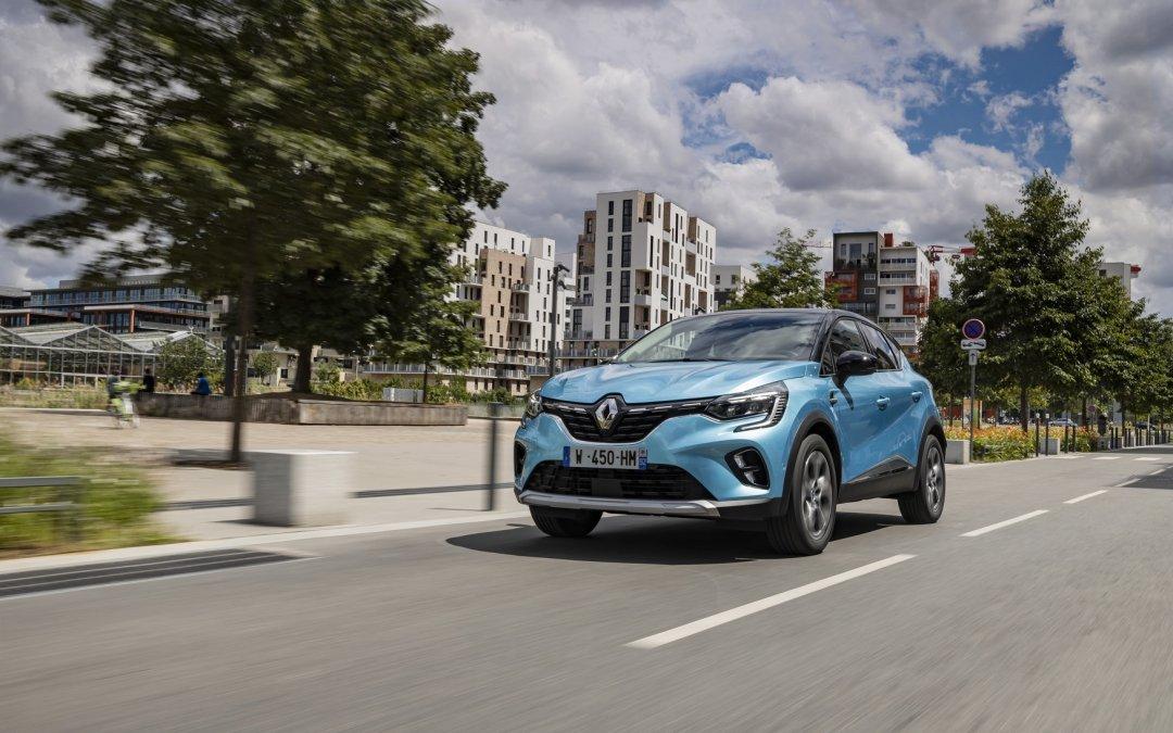 """""""Αυτοκίνητο του 2021"""" για την Ελλάδα το Renault Captur"""