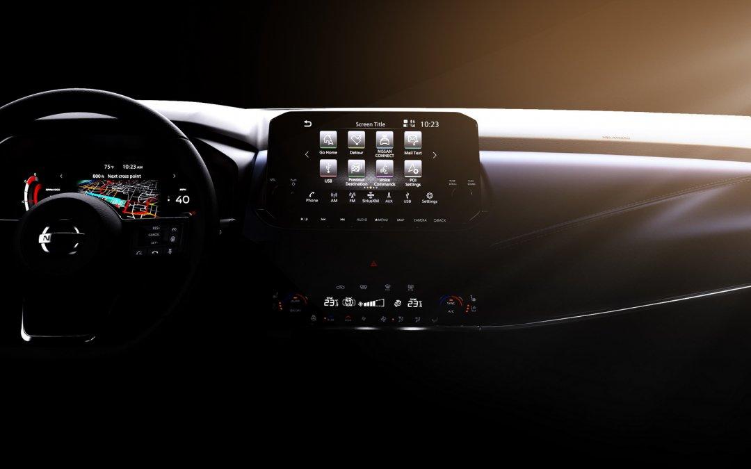 Nissan: Ρίχνει φως στο εσωτερικό του νέου Qashqai