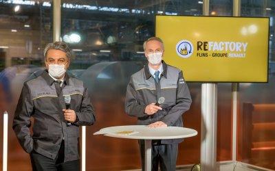 Το Re-Factory της Renault δίνει 3.000 θέσεις εργασίας και αρνητικό ισοζύγιο C02