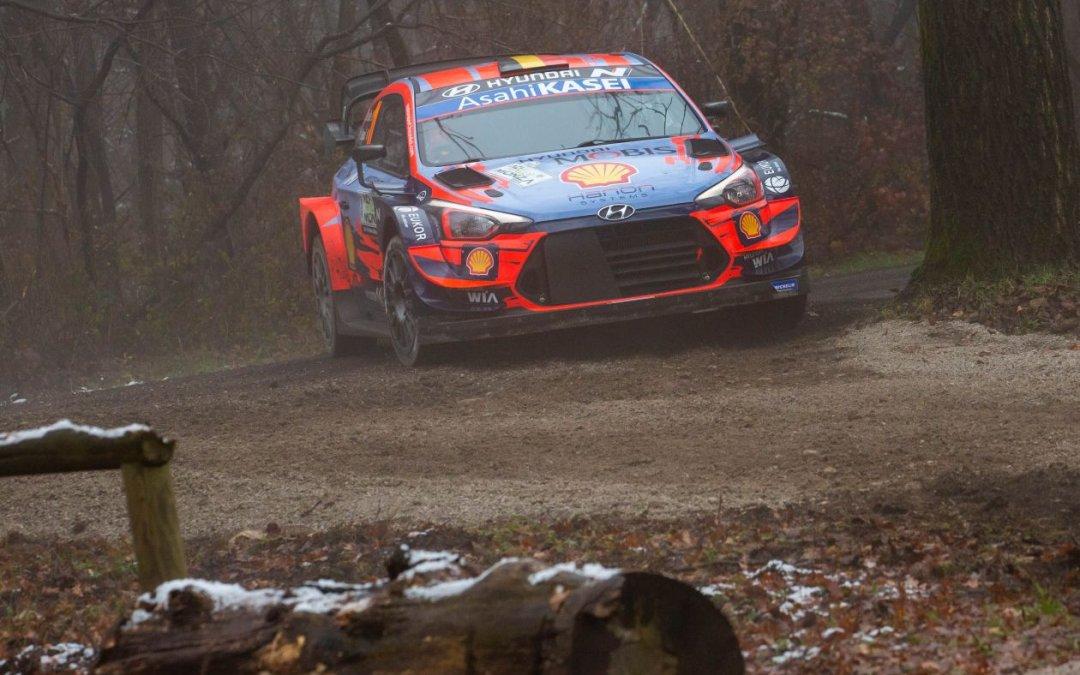 WRC, ράλι Μόντσα: Ο Νεβίλ δεν θα εκκινήσει στο 2ο σκέλος
