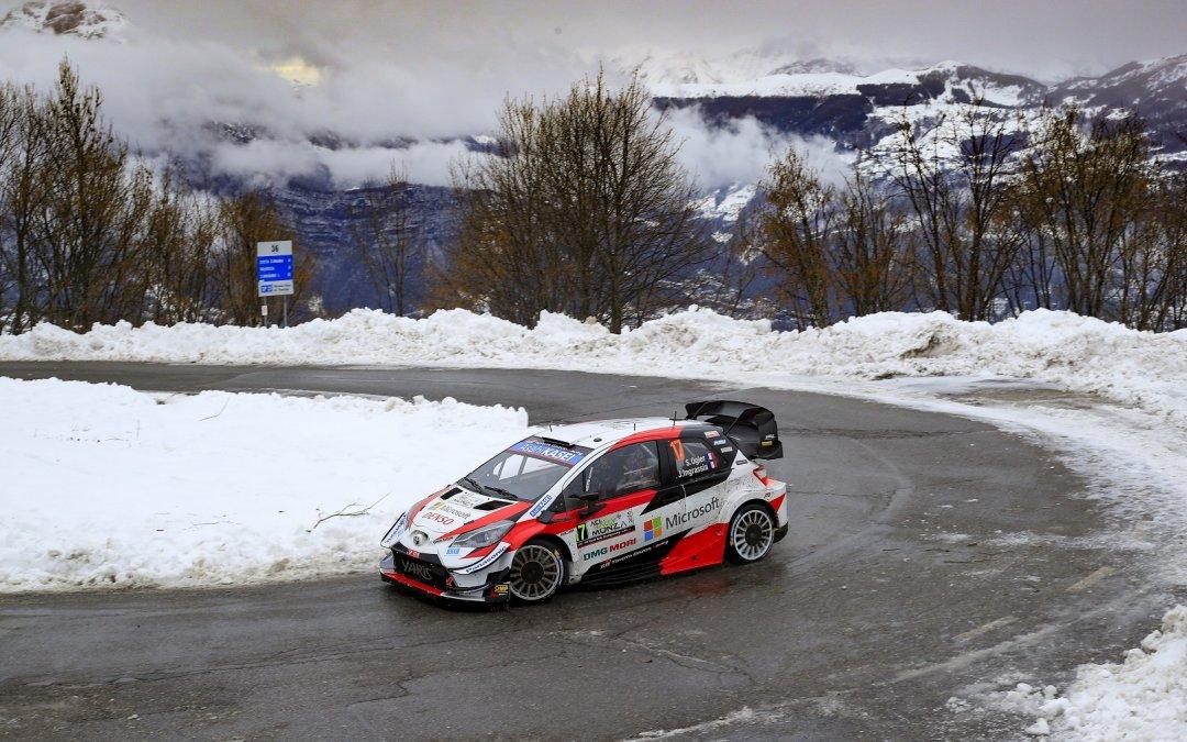 WRC, ράλι Μόντσα, 2o σκέλος: Προηγείται ο Οζιέ, εκτός ο Έβανς