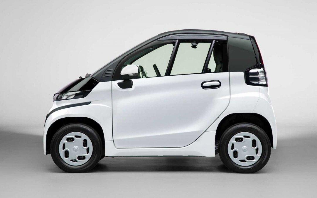 Νέο Toyota C+pod: Τόσο μικρό που μπορείς να το αγκαλιάσεις