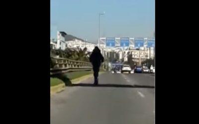 Ανεύθυνος με ηλεκτρικό πατίνι βολτάρει στην αριστερή λωρίδα της Συγγρού με 80χλμ./ώρα  (Video)