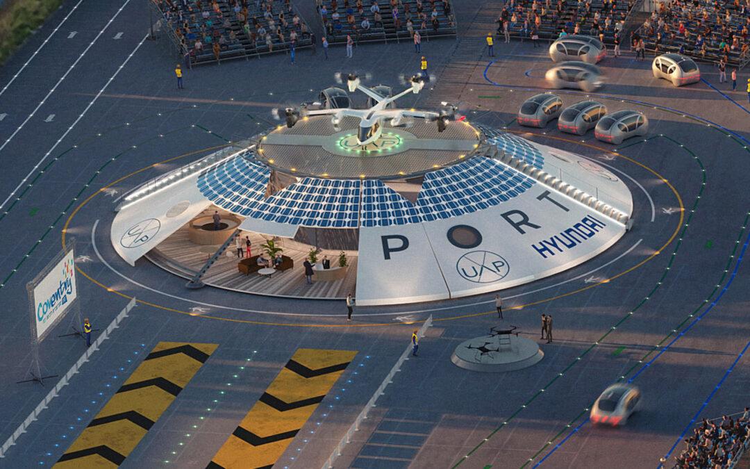Hyundai: Αεροδρόμιο για drones που μεταφέρουν ανθρώπους