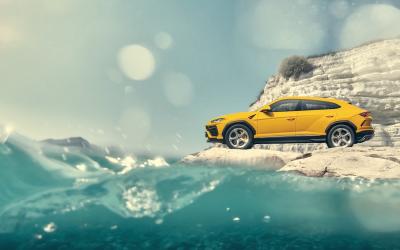 Lamborghini Urus: Διαφήμιση σε κλίμακα 1:18 (video)