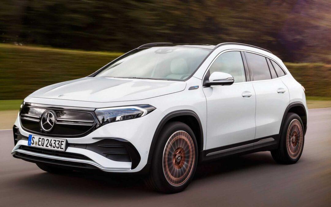 Ιδού η νέα Mercedes EQA: Με 190 ίππους και 450χλμ. αυτονομία