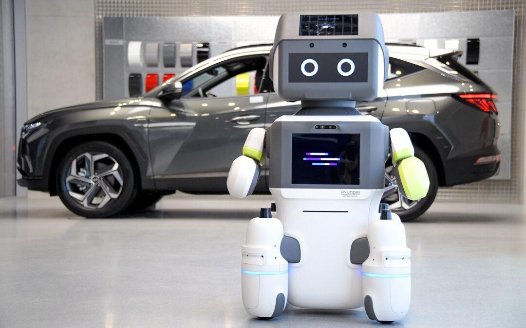 Hyundai: Αντικαθιστά τους πωλητές αυτοκινήτων με ρομπότ