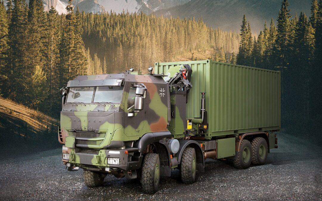Που θα προμηθεύσει η Iveco βαριά στρατιωτικά οχήματα;