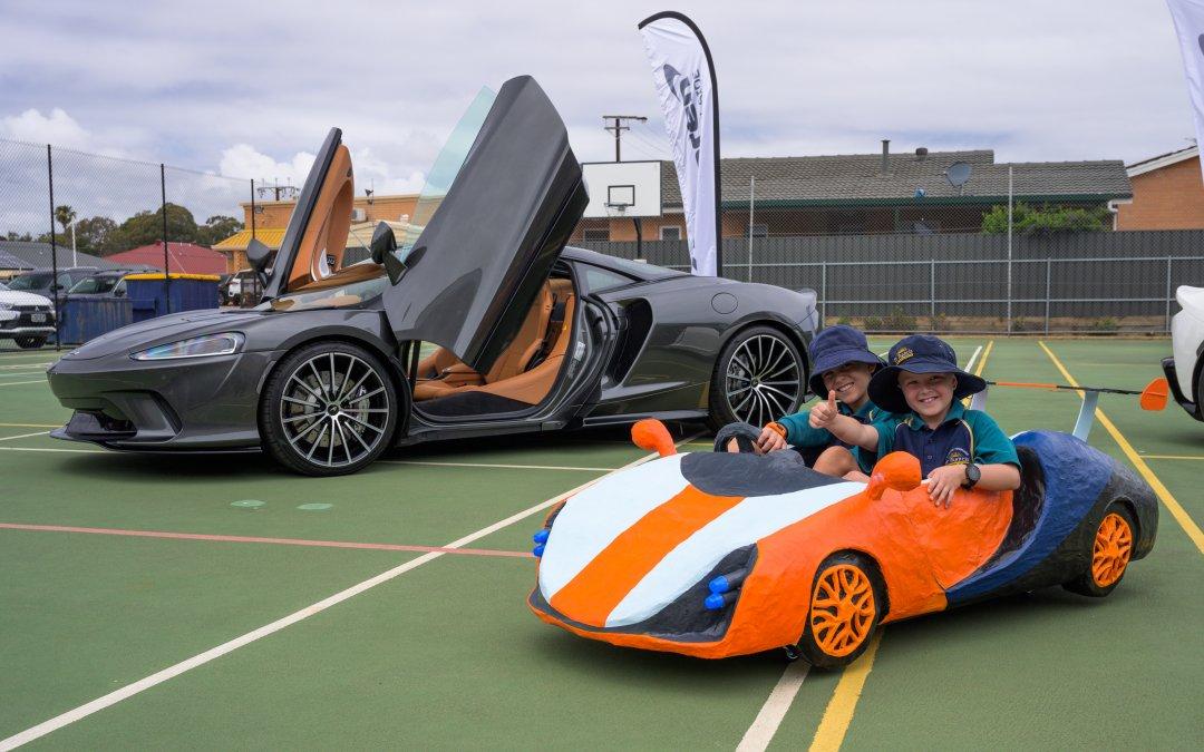 Μαθητές του δημοτικού σχεδιάζουν τη νέα McLaren