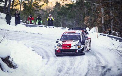 Πρίγκηπες στο Μόντε Κάρλο Οζιέ-Ινγκρασιά με Toyota Yaris WRC