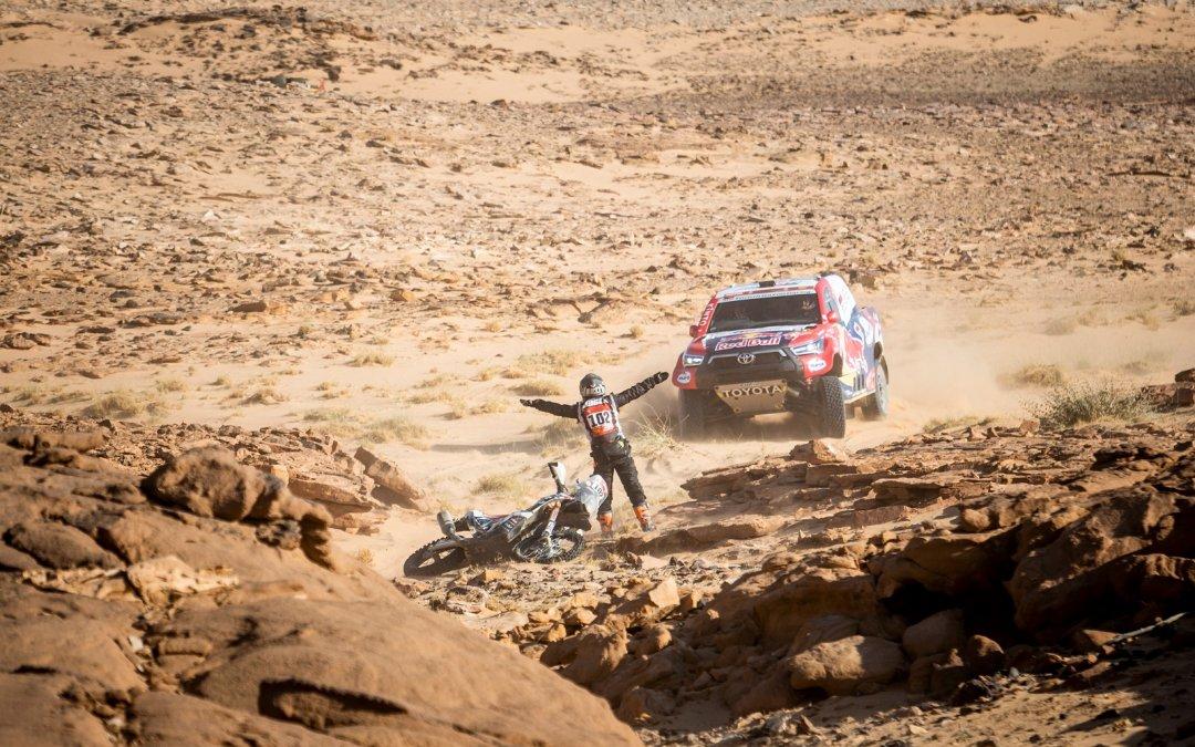 Nτακάρ 2021, 3η Ειδική Διαδρομή: Ο Αλ Ατίγια έχει βάλει φτερά στους τροχούς και πετάει στην έρημο