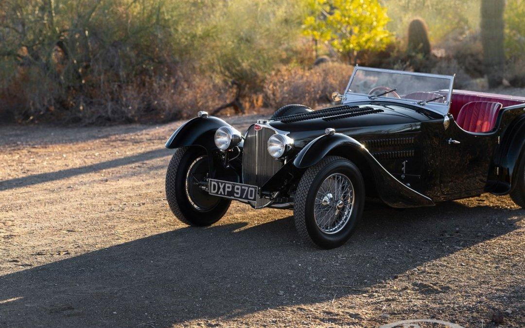 Bugatti Type 57 SC Tourer: Ψάχνει γκαράζ