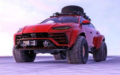 Πώς σας φαίνεται αυτή η κτηνώδης Lamborghini Urus;
