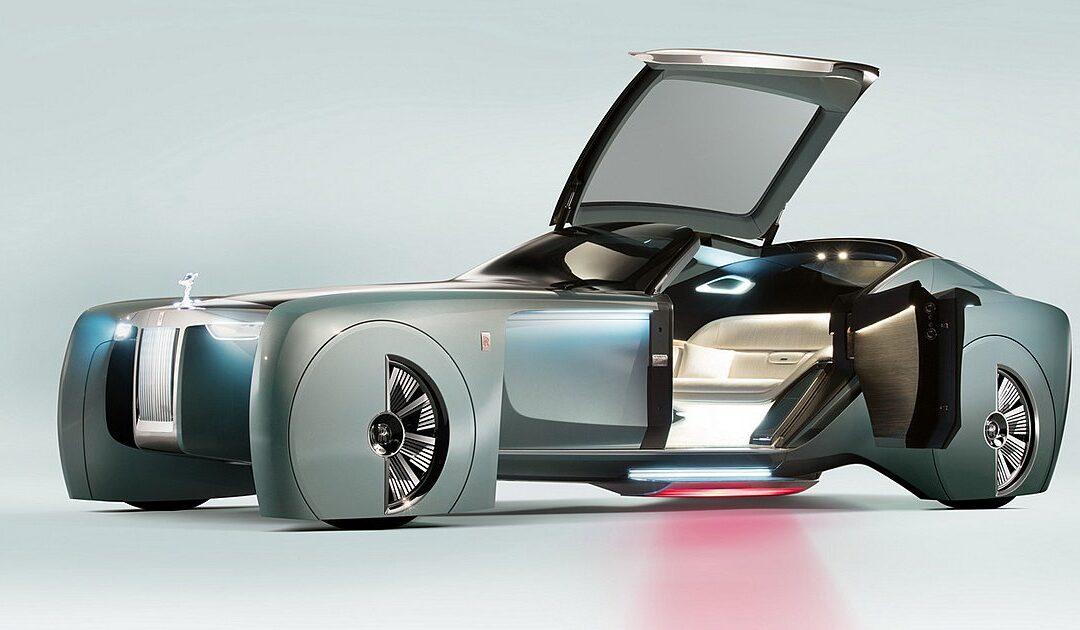 Απίθανη σχεδίαση για την ηλεκτρική Rolls-Royce Silent Shadow
