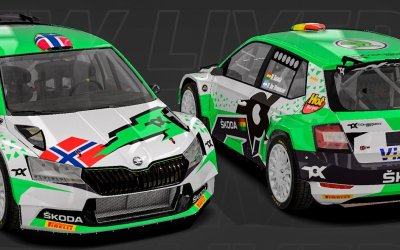 Skoda Fabia Rally 2: Η Tok Sport μας συστήνει τα πληρώματα και τα χρώματα του 2021