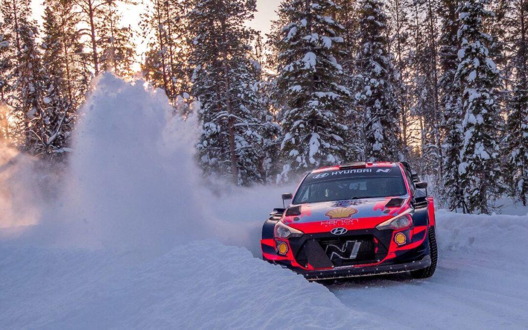 WRC, ράλι Αρκτικής: Ο Σόλμπεργκ και το Hyundai i20 WRC