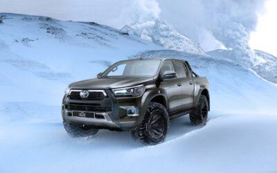 Toyota: Εκεί που σταματά το εκχιονιστικό συνεχίζει αυτό το Hilux