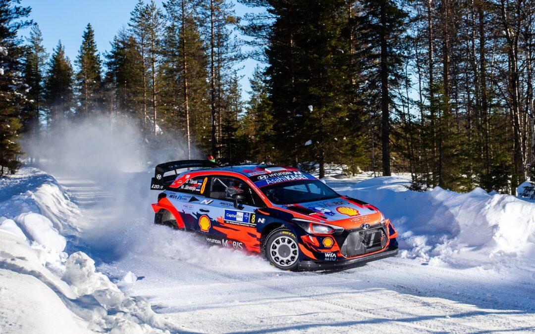 WRC, ράλι Αρκτικής, 2ο σκέλος: Ο Tanak εξακολουθεί να προηγείται