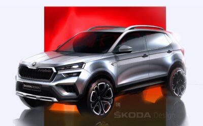 Νέο Skoda Kushaq: Δείτε για πρώτη φορά τη σχεδίαση του