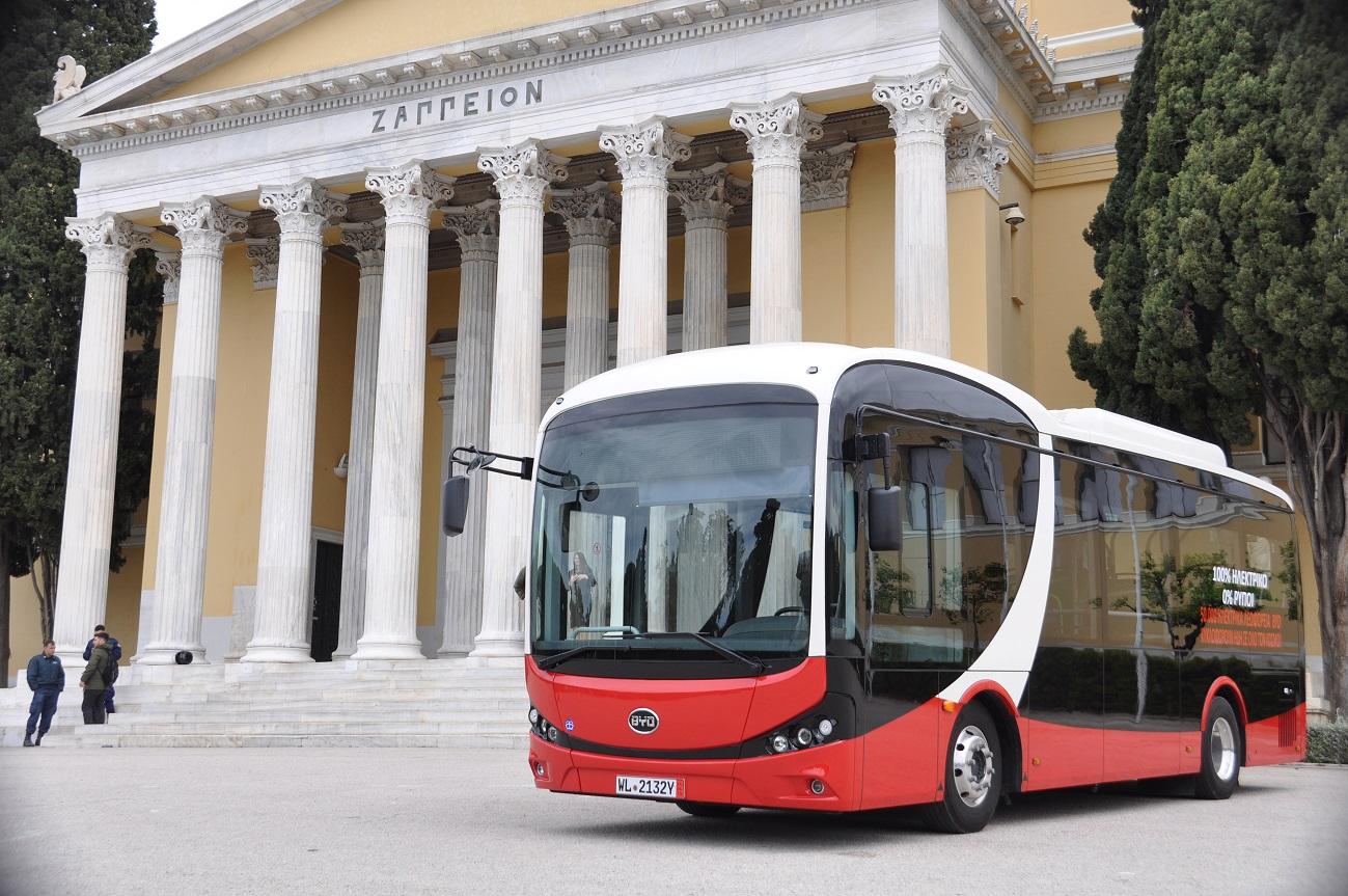 στον διαγωνισμό των 1.200 λεωφορείων