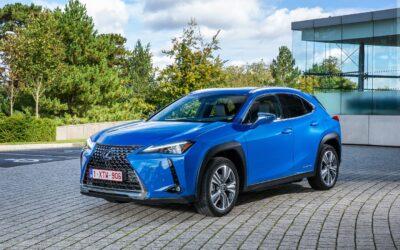 Lexus: Το ηλεκτρικό UX 300e φτιάχνεται από χαρτί
