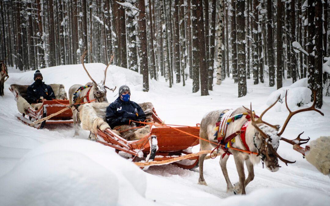 WRC, ράλι Αρκτικής: Με έλκηθρα καταφτάνουν τα πληρώματα