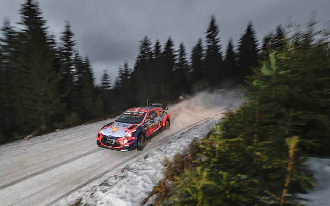 WRC-ράλι Αρκτικής: Τρία τα πληρώματα για τη Hyundai Motorsport