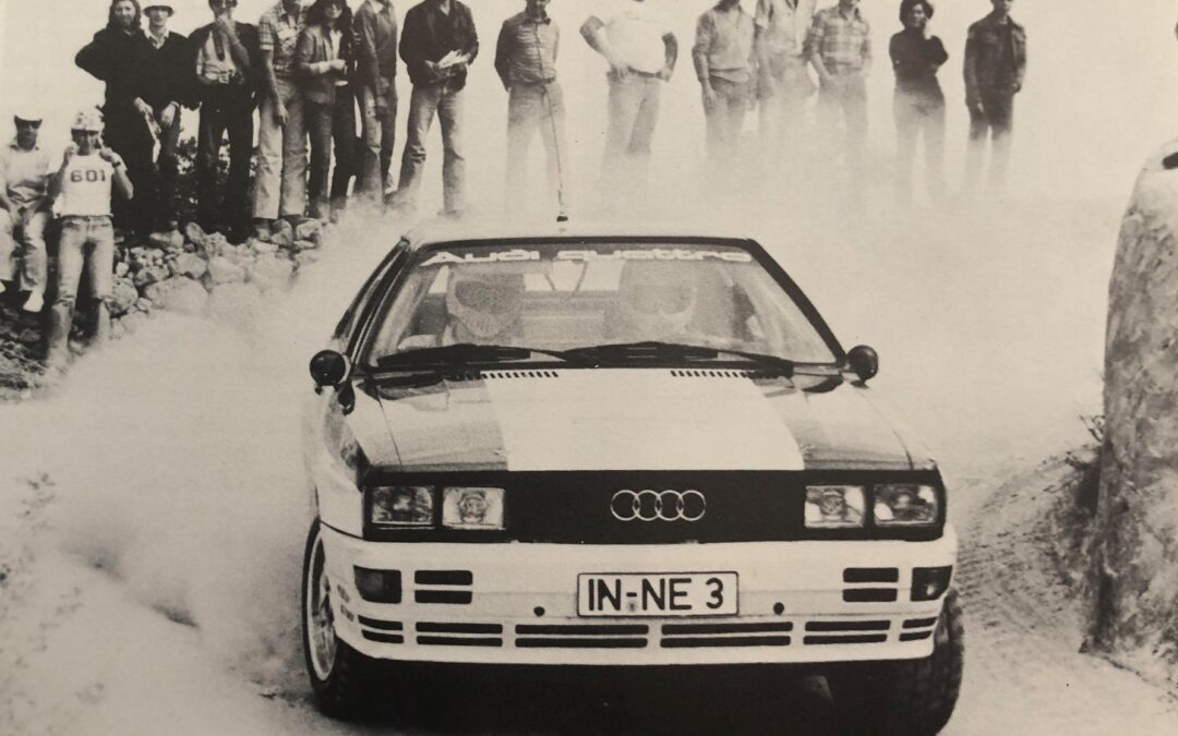 WRC, Audi: Το τηλεφώνημα σταθμός στον Hannu Mikkola (video)