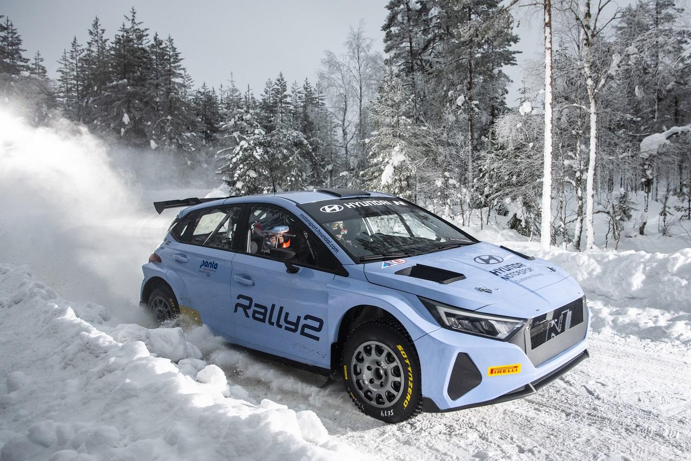 η εξέλιξη του i20 Rally2 συνεχίζεται