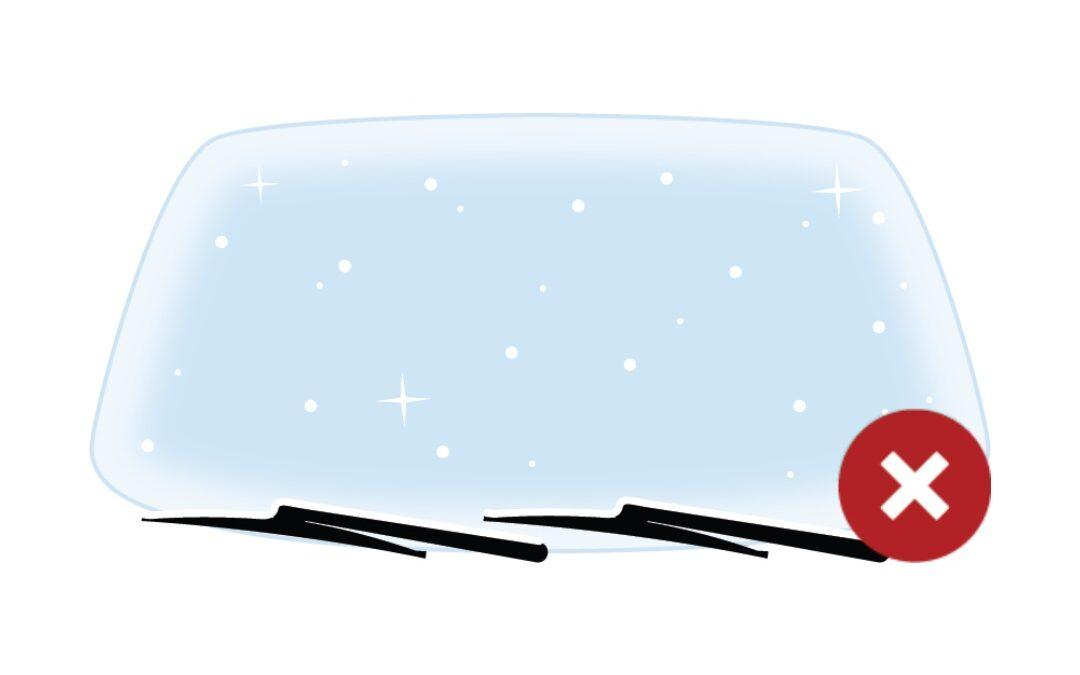 Παρμπρίζ  και υαλοκαθαριστήρες: Προσοχή τώρα στον παγετό