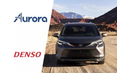 Toyota-Denso-Aurora: Ετοιμάζουν ταξί-ρομπότ