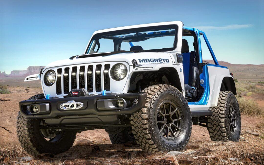 Jeep Magneto: Το μοναδικό ηλεκτρικό με χειροκίνητο κιβώτιο