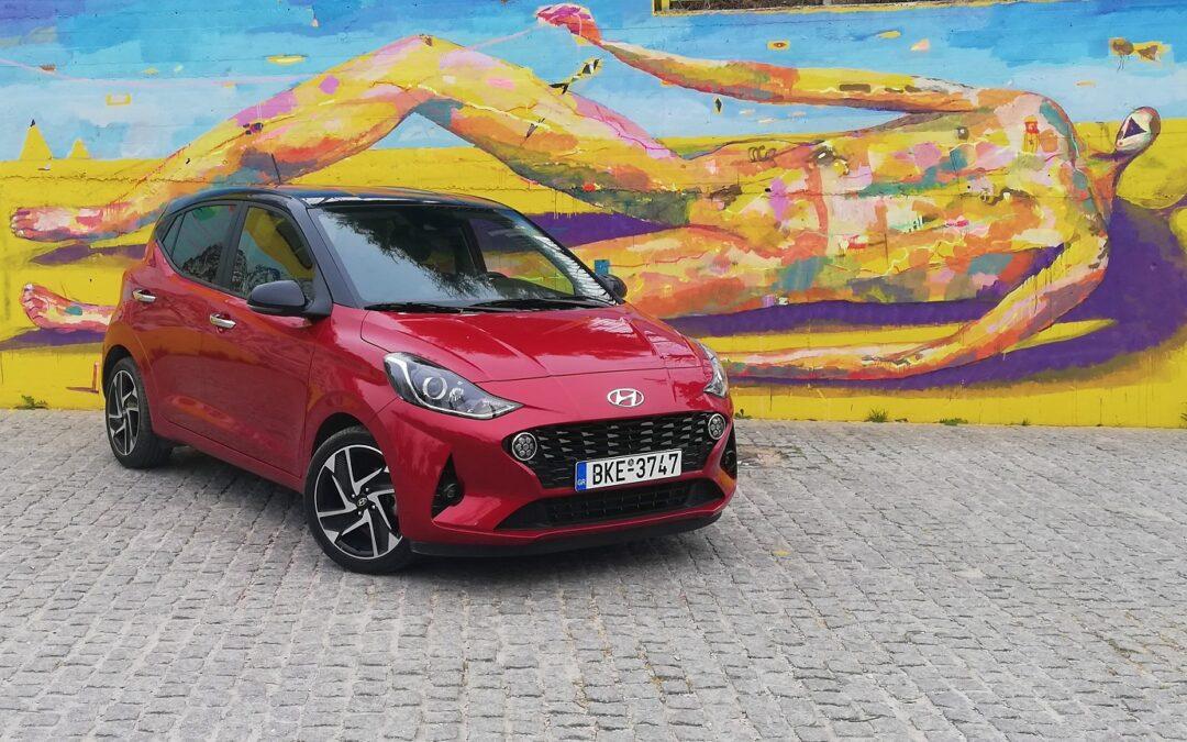Hyundai i10: Του αρέσει να κινείται στην πόλη