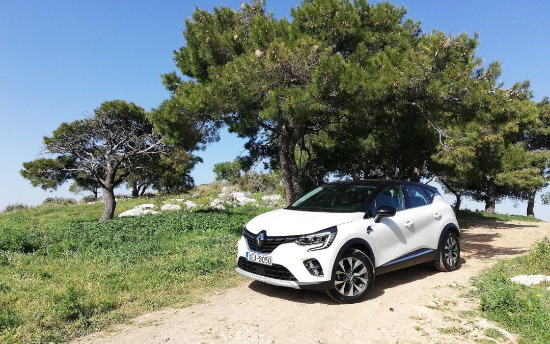 Renault Captur 1.0 TCe LPG: Mε δυο καύσιμα δε σταματάς να ταξιδεύεις