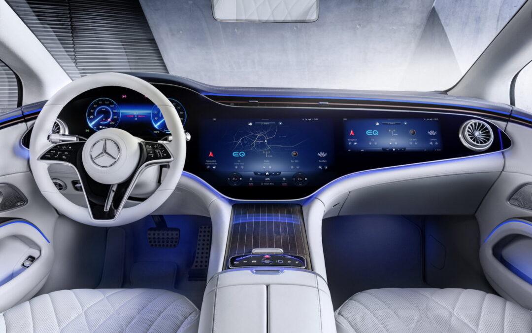Mercedes EQS: Οθόνες σε όλο το ταμπλό μέχρι και δακτυλικό αποτύπωμα