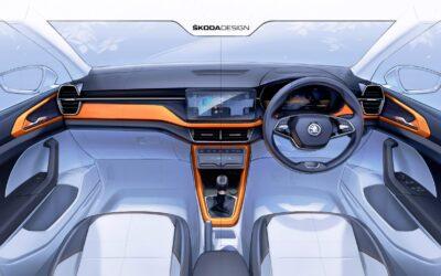 Skoda: Σε ποιο νέο μοντέλο ανήκει αυτό το εσωτερικό;