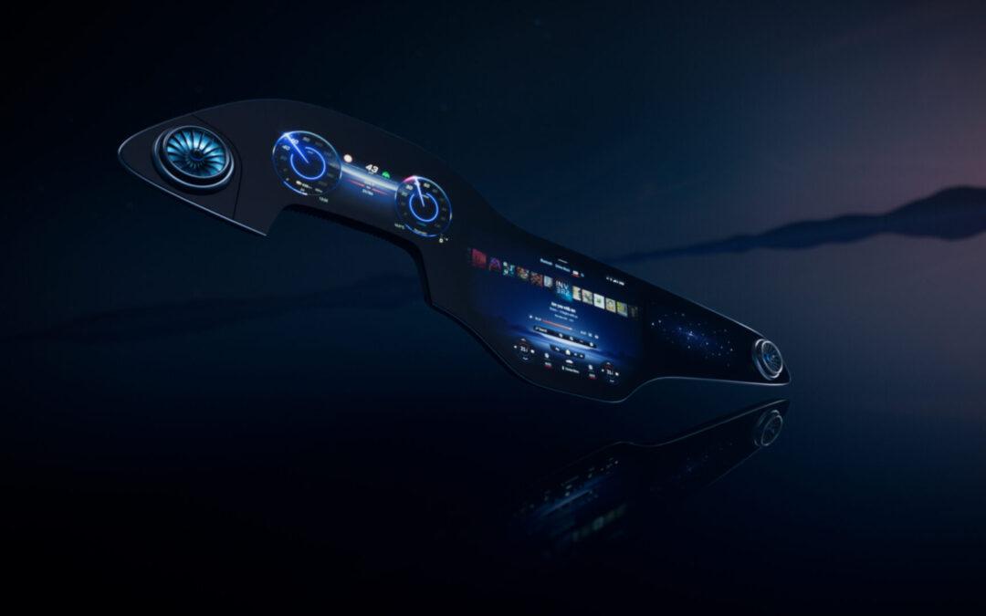 Mercedes Hyperscreen: Δεν υπάρχει ταμπλό, έγινε οθόνη (video)