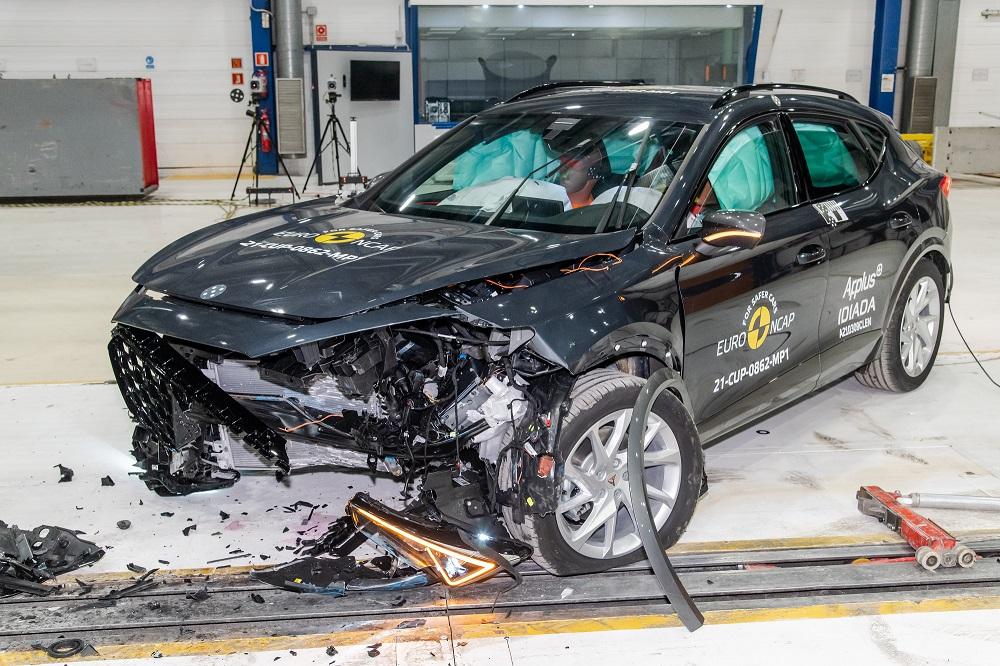 EuroNCAP-Cupra Formentor: Πεντάστερο σε ασφάλεια (video)