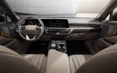 Νέο Kia K8: Αφήνει στόματα ανοιχτά το εσωτερικό του