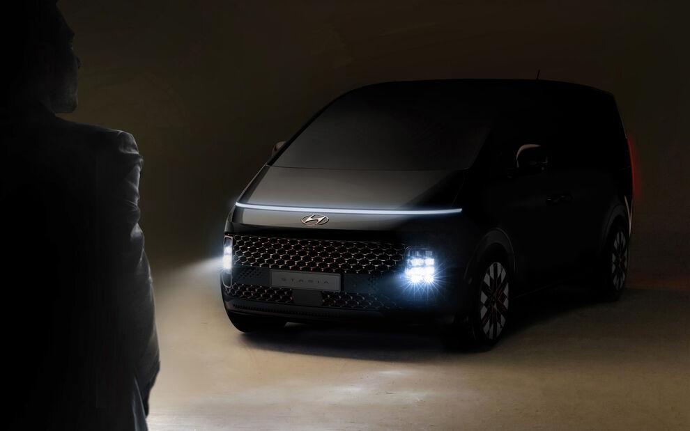 Νέο Hyundai Staria: Φουτουριστικό και πολυχρηστικό