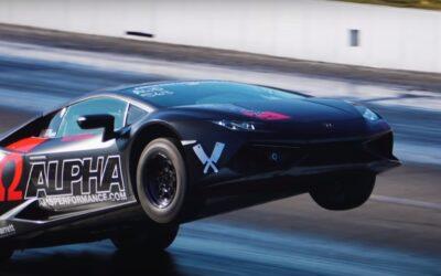 """Αυτό δεν το έχετε ξαναδεί: """"Κτήνος"""" Lamborghini με 1.800 άλογα πηγαίνει στις… 2 ρόδες! (Video)"""