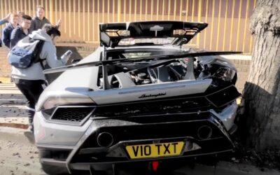 Δοκιμάζει Launch Control και βγάζει την Lamborghini του ολική! (Video)