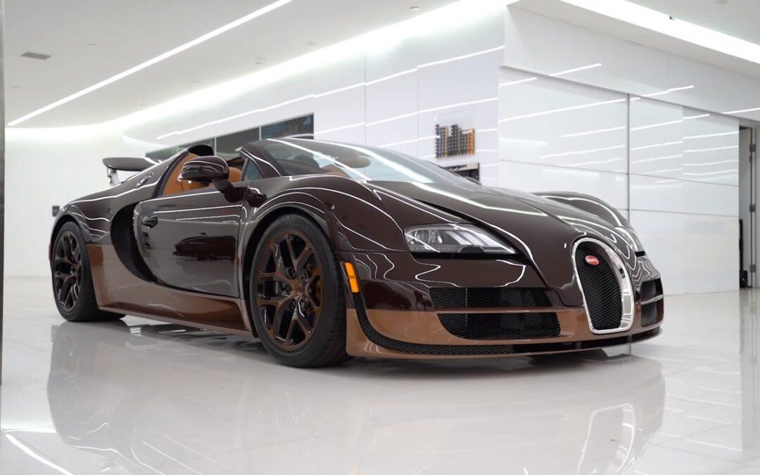 Δεν φαντάζεστε πόσο κοστίζει μία αλλαγή λαδιών σε Bugatti Veyron! (+Video)