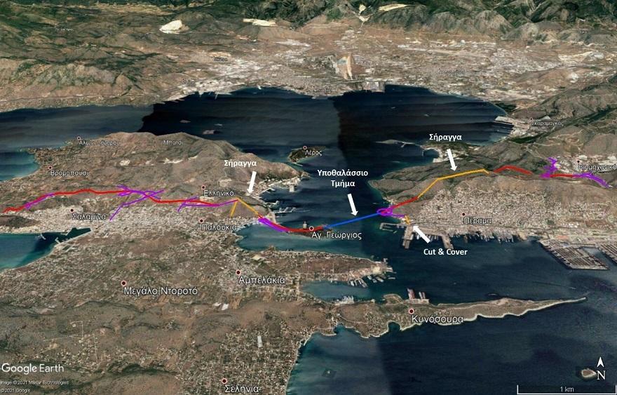 Αθήνα – Σαλαμίνα με αυτοκίνητο! Εγκρίθηκε το έργο ύψους 350.000.000 ευρώ