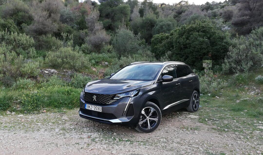 Το 3008 της Peugeot ανανεώθηκε, ομόρφυνε και σε περιπτώσεις «τρέφεται» με πετρέλαιο