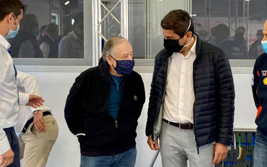 WRC: Ράλι Κροατίας: Συνάντηση Jean Todt – Λευτέρη Αυγενάκη