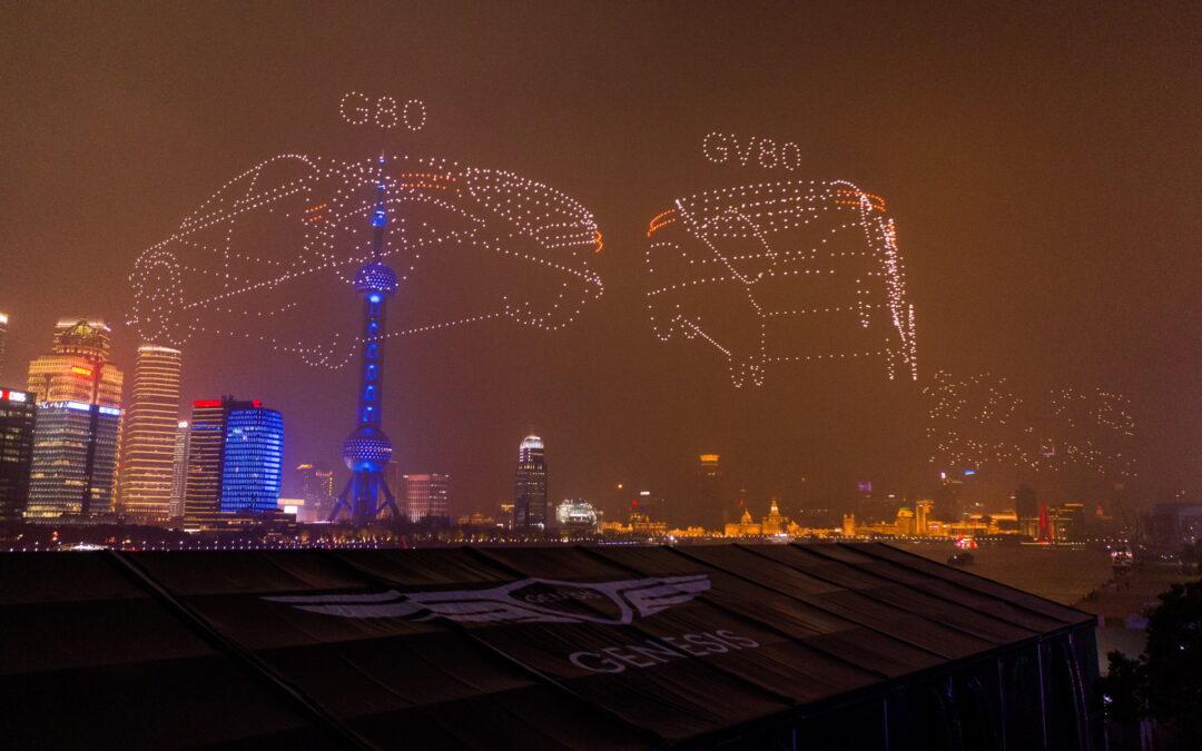 Απίστευτο υπερθέαμα! Πάνω από 3.000 drones έκαναν την πιο συγχρονισμένη πτήση όλων των εποχών (video)