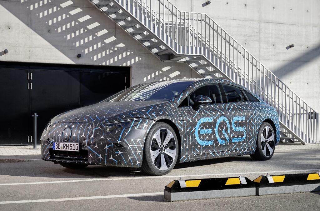 Αθήνα-Αλεξανδρούπολη πάει η ηλεκτρική Mercedes ΕQS με μια φόρτιση!