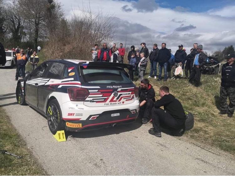 WRC, ράλι Κροατίας, λαοθάλασσα στις δοκιμές του Gryazin