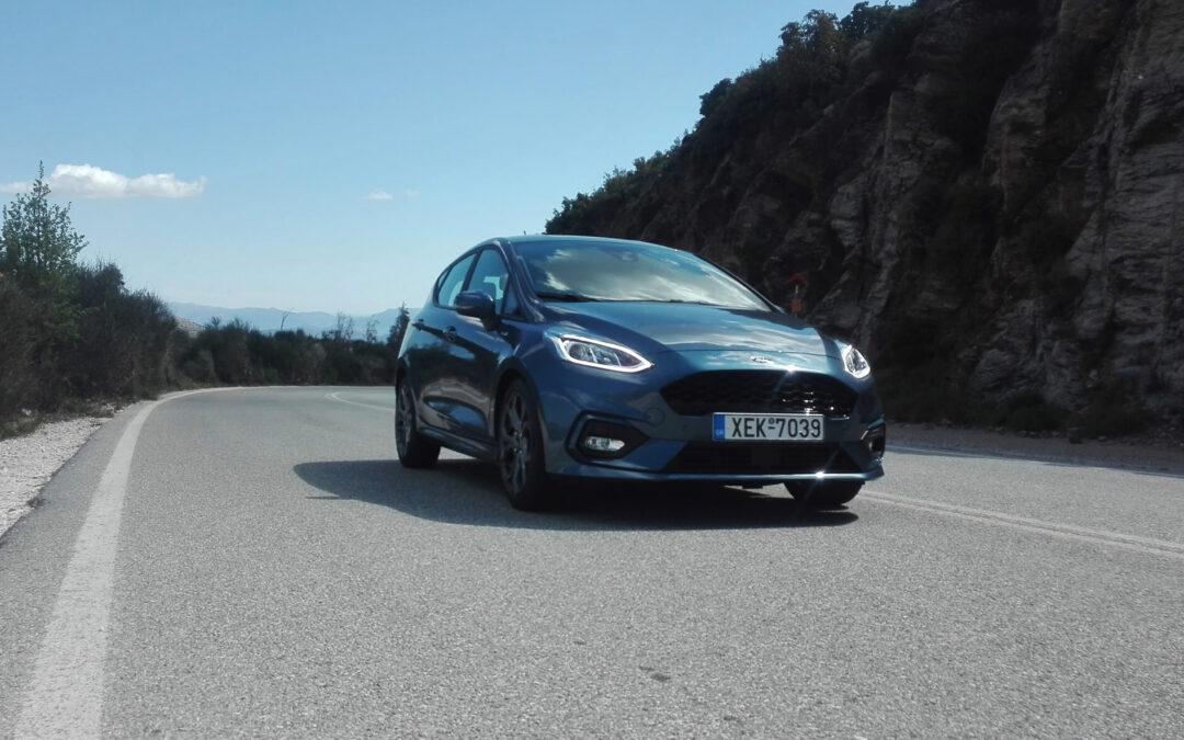 Ford Fiesta 1.000 mHEV ST Line: Αυτό το τιμόνι…